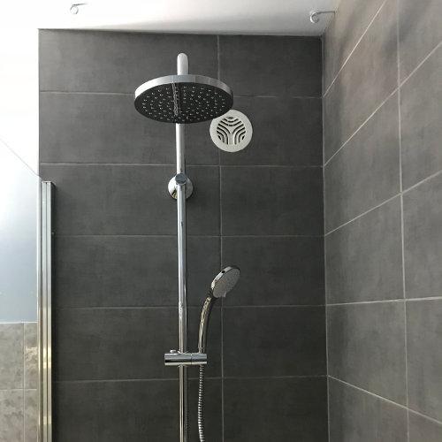 Cabine de douche à l'italienne