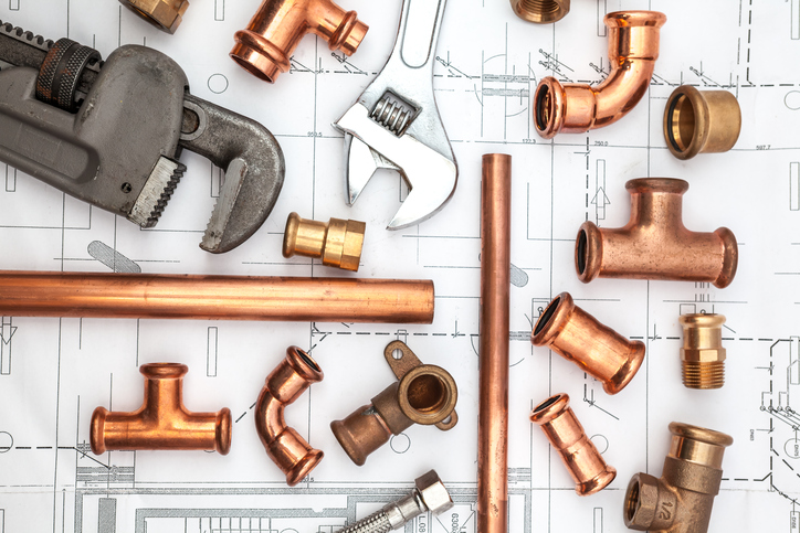 Raccords et tuyaux de plomberie