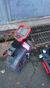 Recherche de fuite dans canalisation avec camera inspection