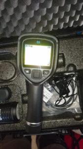 Camera thermique pour recherche de fuite