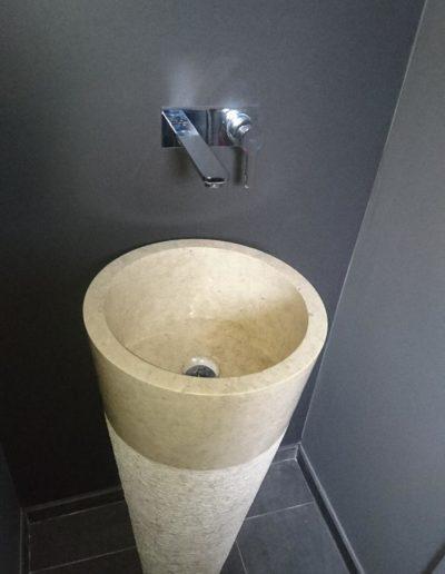 Vasque colonne