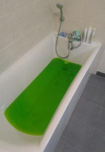 recherche fuite baignoire fluoresceine