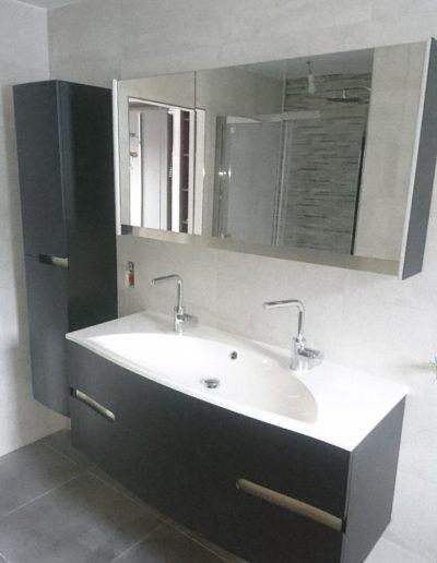 Salle de bain vasque double