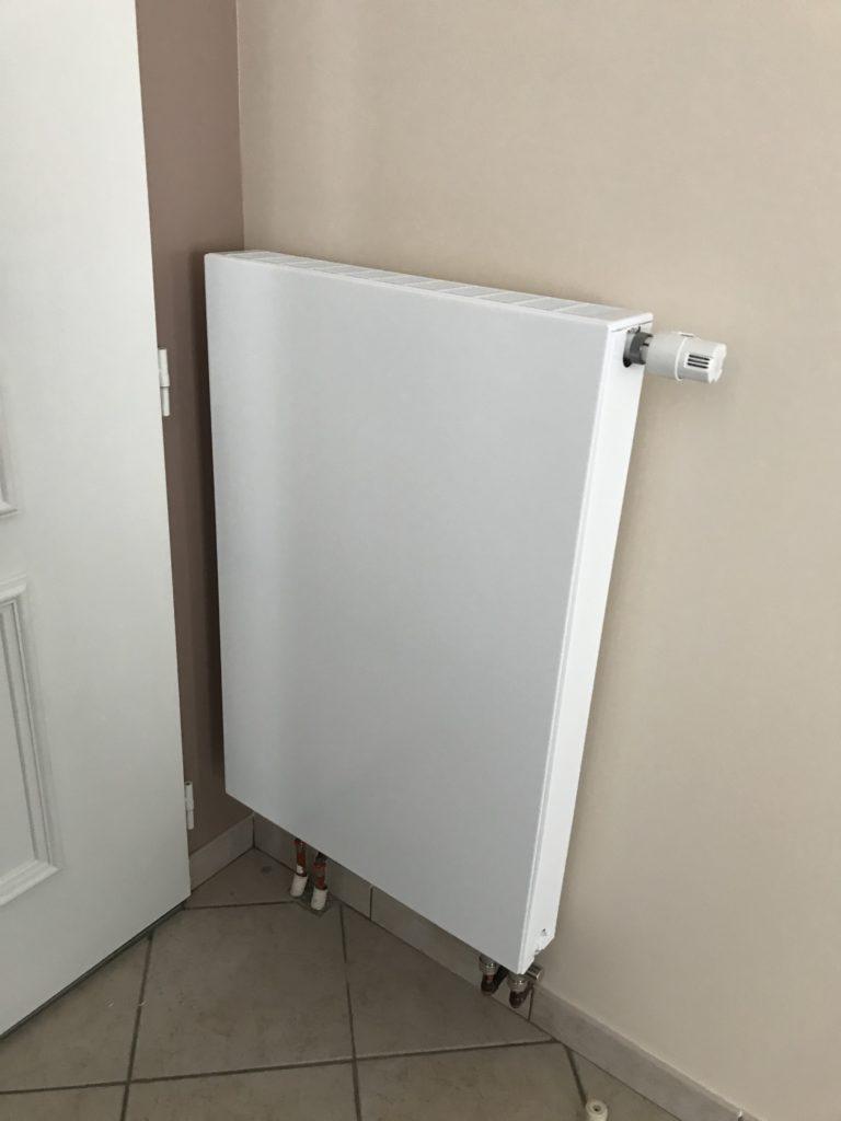 radiateur face pleine